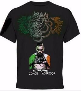 Oversized Women Men TShirt 3D Print Gladiator Star Conor McGregor Tee Many Style