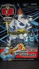 ADVENTURES OF G.I. JOE 2010 - OPERATION ALPINE ASSAULT - HASBRO !!!
