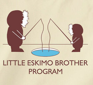 Details about LITTLE ESKIMO BROTHER PROGRAM T-Shirt from the LEAGUE tv show  taco ebdb ebdbbnb