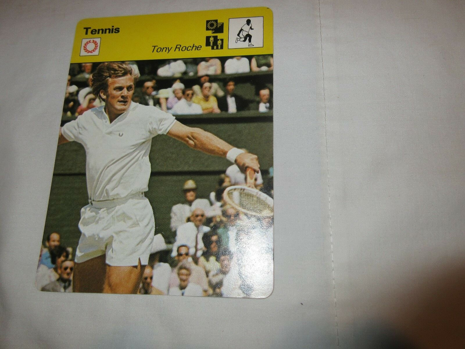 Sportscaster Cards 1978 , Deck # 38 , Cards # 1-24 , Po