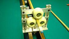 LATHE ROLLER REST  pool cue repair tip ferrule clean sand retaper wrap 6in model