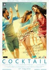 Cocktail (Hindi DVD) (2012) (English Subtitles) (Brand New Original DVD)