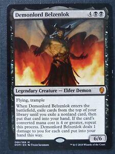 Demonlord Belzenlok - Mtg Magic Card #XQ
