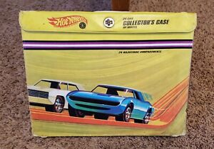 Vintage-1967-Original-Hot-Wheels-Redline-24-Car-Collector-s-Case