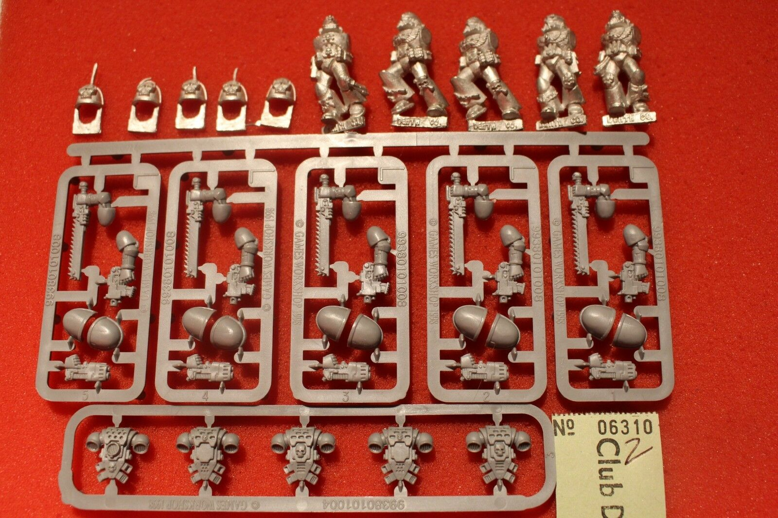 Games Workshop Warhammer 40k Blood Angels Death Company Metal Figures Squad New