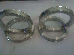 4 X Set anelli di centraggio cerchi in lega 69,1 mm 54,1 mm