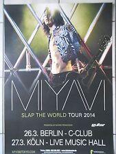 MIYAVI  2014  TOUR  orig.Concert-Konzert-Tour- Poster  DIN A1 .