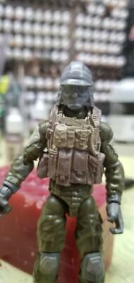 "MH052 Custom Cast head use w//3.75/"" Star Wars GI Joe Acid Rain action figures"