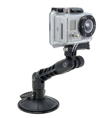 GP198: Arkon GP198 Sticky Suction Windshield Dashboard Mount for GoPro Camera