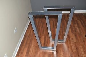 Tapered Style Metal Table Legs - Any Size