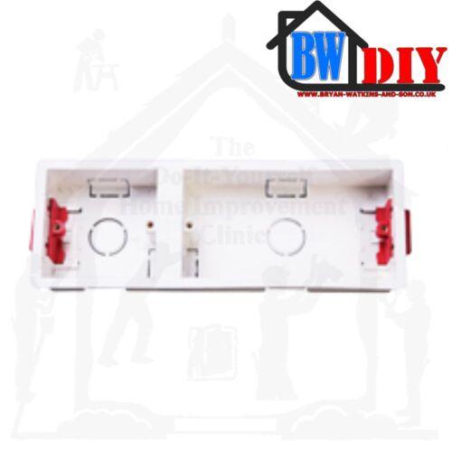 Divers Taille 1 Ou 2 Gang Dry Doublure Cases Réglable cosses pour plaques de plâtre des murs