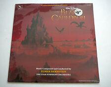 WALT DISNEY THE BLACK CAULDRON FACTORY SEALED LP Elmer Bernstein UTAH ORCH. 1985