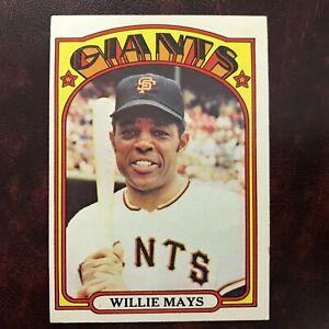 1972-Topps-Set-WILLIE-MAYS-49-SAN-FRANCISCO-GIANTS-EX-MINT-HIGH-GRADE