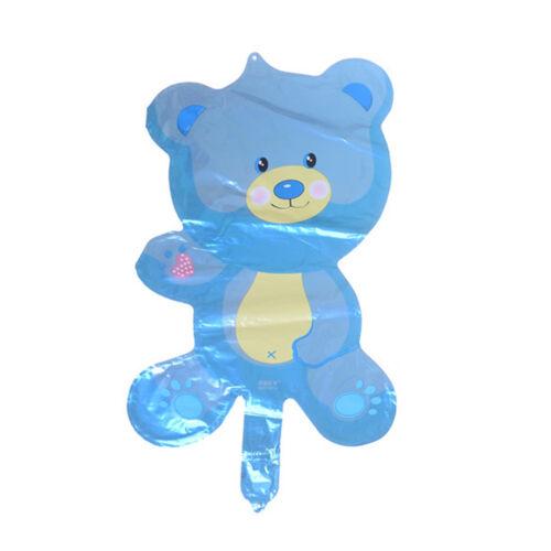 Lovely Children/'s Bear Toys Foil Balloons Cartoon Birthday/&Party Decoration B$