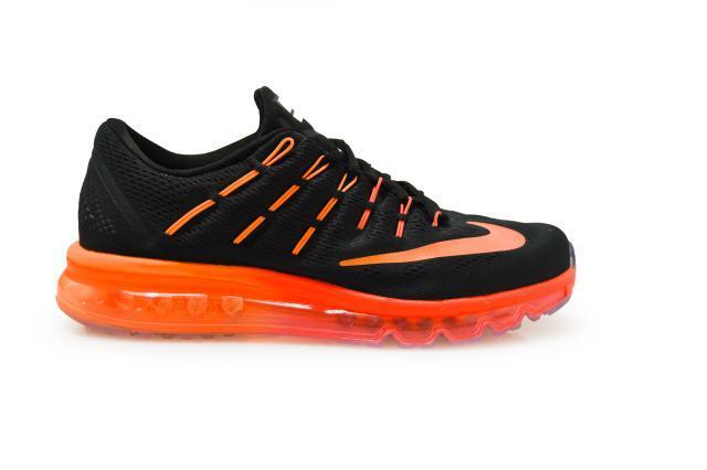 huge discount 0ebff d04f2 Nike Air Max 2016 Orange Black Mens Running Shoes Sneaker Trainer 360  806771-006 UK 9.5 for sale online  eBay