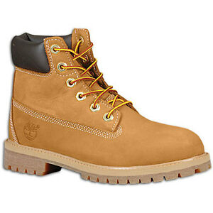 Timberland-Big-Kids-039-6-034-Classic-Boots-Wheat-10960-a