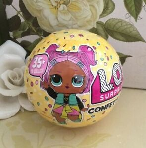 New Sealed Lol Surprise Confetti Pop Doll Series 3 Wave 1 Ball