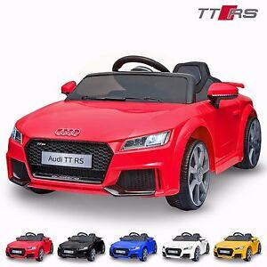 97be39401d9 AUDI TT RS Licensed KIds RIde On Car 12V Twin Motor Battery Remote ...