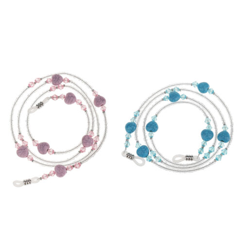 Beaded Eyeglass Holder Necklace Sunglasses Neck Strap Chain Lanyard Acrylic