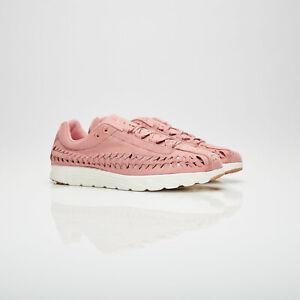 Da-Donna-Scarpe-da-ginnastica-Nike-effimera-in-Tessuto-UK-8-5-US-11-EUR-43-rosso-Stardust