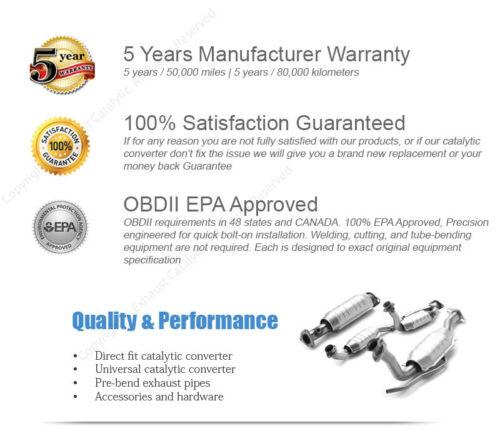 2004-2008 Fit NISSAN Maxima 3.5L Manifold Catalytic Converter Radiator Side