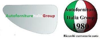 PIASTRA SPECCHIO RETROVISORE C//VETRO SX INF FIAT MULTIPLA 98/>02 DAL 1998 AL 2002