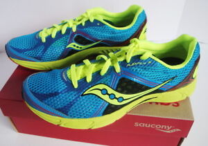cf234570ec29 Image is loading Saucony-Fastwitch-6-Running-Athletic-Shoe-Blue-Yellow-
