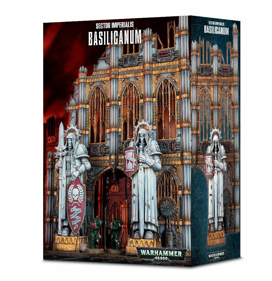 Warhammer 40k - Sector Imperialis Basilicanum - Brand New in Box  64-48