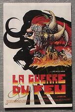Carte postale LA GUERRE DU FEU DRUILLET   postcard