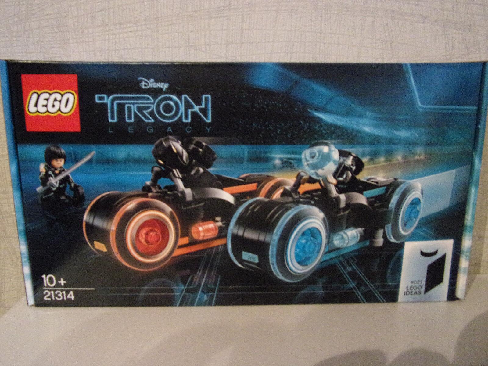 Lego Ideas 21314 Tron  Legacy-NOUVEAU & NEUF dans sa boîte