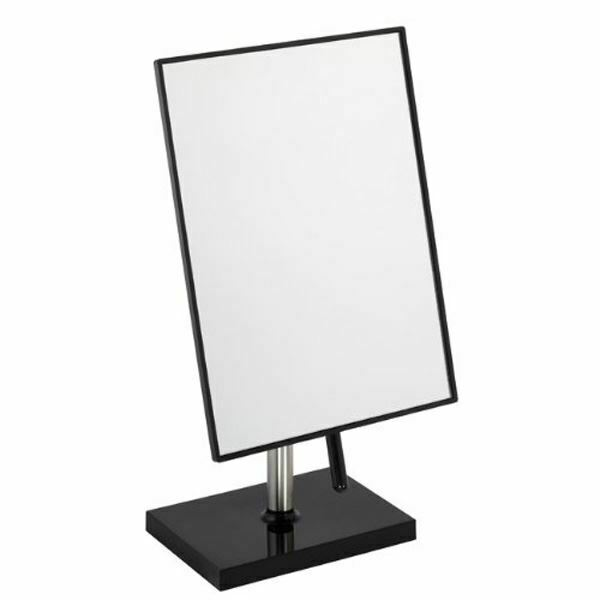 Dressing Table Mirror 22cm X 16cm Black