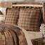 PRESCOTT-QUILT-SET-choose-size-amp-accessories-Rustic-Plaid-Brown-Lodge-VHC-Brands thumbnail 14