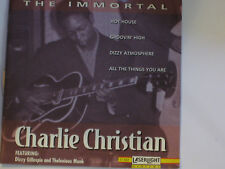 Charlie Christian The Immortal CD 1993 Dizzy Gillespie Thelonious Monk