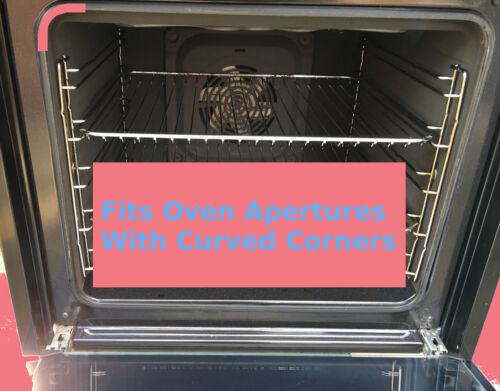 UNIVERSAL OVEN DOOR SEAL 4 Sided Curved Rounded Corner Gasket CANNON etc.