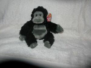 TY Beanie Baby, TUMBA the Gorilla (7.5 inch)  RARE