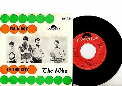 THE WHO 7'' PS I'm A Boy NORWAY ULTRA RARE Polydor 42105 UNIQUE MOD COVER 45