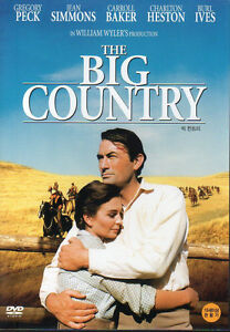 The Big Country - Gregory Peck Jean Simmons Charlton ...