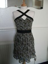 Laura Lees Dress Little Miss Sew @ Asos Tiger Print BNWOT Net under Skirt Size M