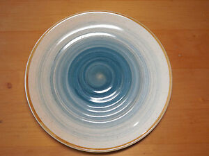 Image is loading Gibson-Everyday-OCEAN-DREAM-BLUE-Set-of-4- & Gibson Everyday OCEAN DREAM BLUE Set of 4 Dinner Plates 11