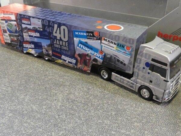 1 87 Herpa MAN TGA XXL Märklin Koffer SZ 274470    Ausgezeichnet (in) Qualität
