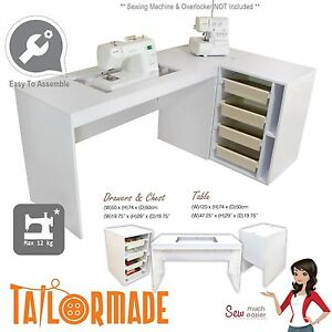 Image Is Loading Sewing Machine Cabinet Desk Table Storage Furniture Janome