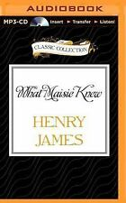 What Maisie Knew by Henry James (2015, MP3 CD, Unabridged)