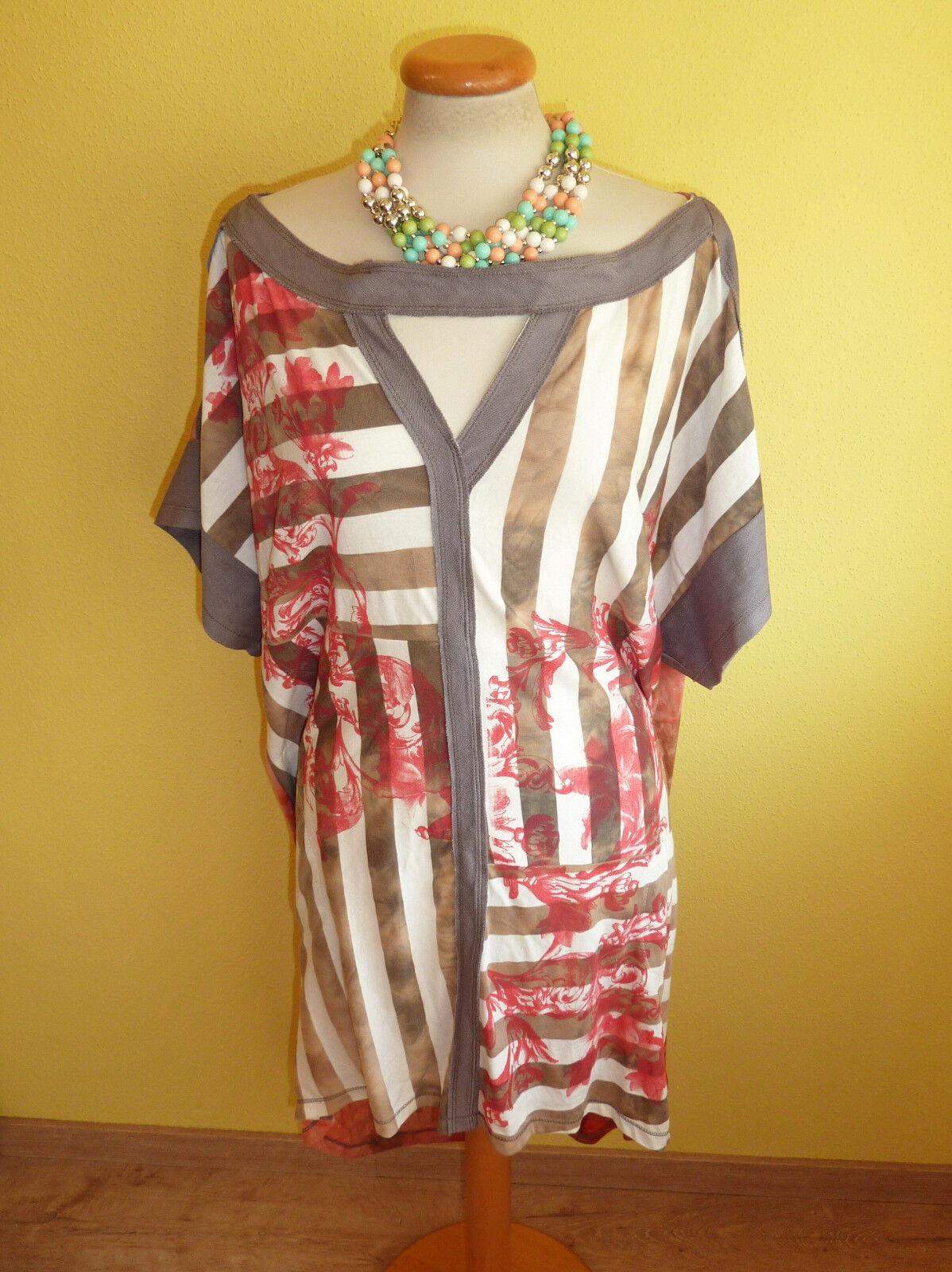 Tunika Mat Fashion bunt Größe M Kleid Ibizalook neu
