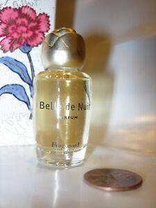 Womens Fragonard Belle De Nuit Perfume Parfum 8 Ml Vanity Bottle
