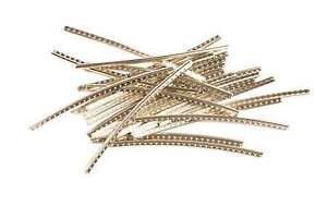 fender standard bass fret wire 24 pieces medium jumbo 099 1997 000 717669505844 ebay. Black Bedroom Furniture Sets. Home Design Ideas