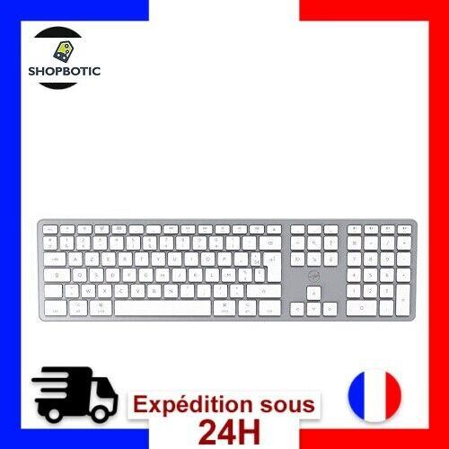 Clavier Francais Azerty sans fil PC Ordinateur Compatible Apple Mac Macbook Imac