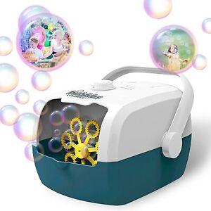 Bubble Machine, Auto Bubble Blower Portable Bubble Maker for Kids