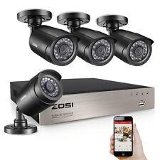 ZOSI HD 1080N 8CH HDMI DVR 1500TVL Outdoor IR CCTV Home Security Cameras System