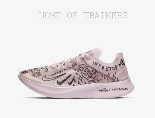 Nike Zoom Mouche Sp Rapide Nathan Bell pink white Mousse black pour men