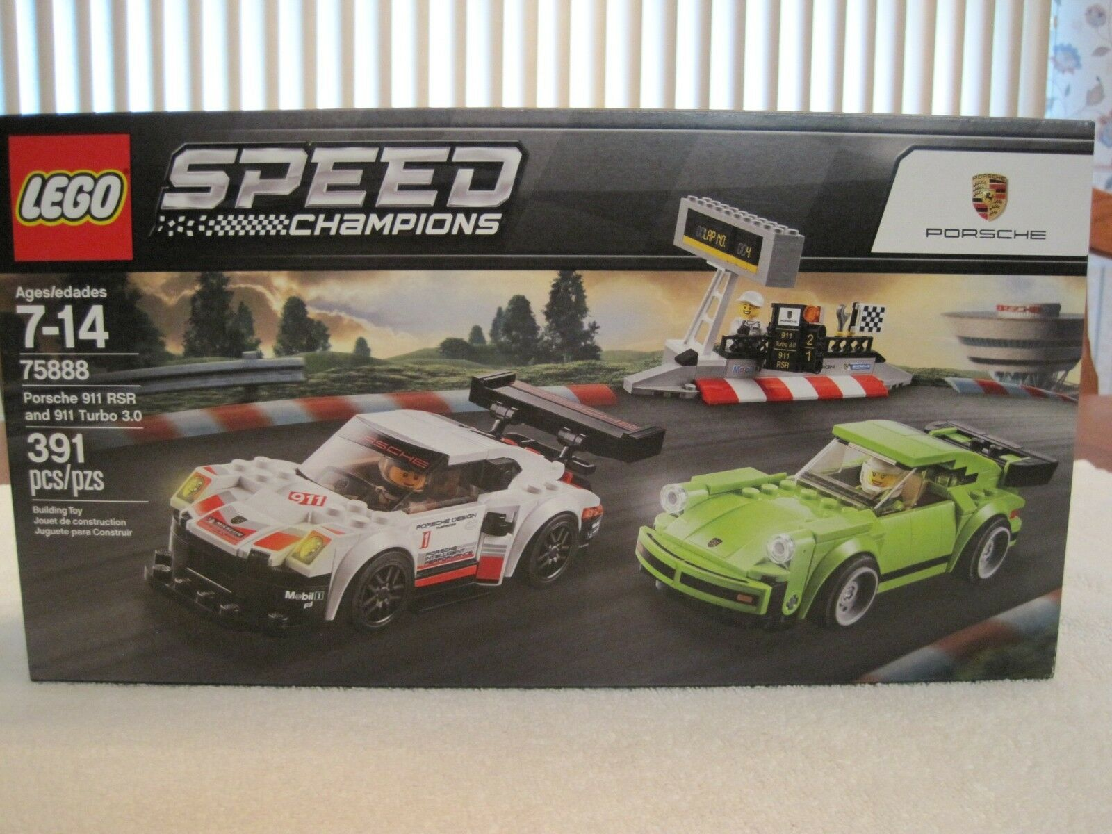 2018 LEGO 75888 SPEED SPEED SPEED CHAMPIONS PORSCHE 911 RSR & 911 TURBO 3.0--NEW--UNOPENED 1d4f08
